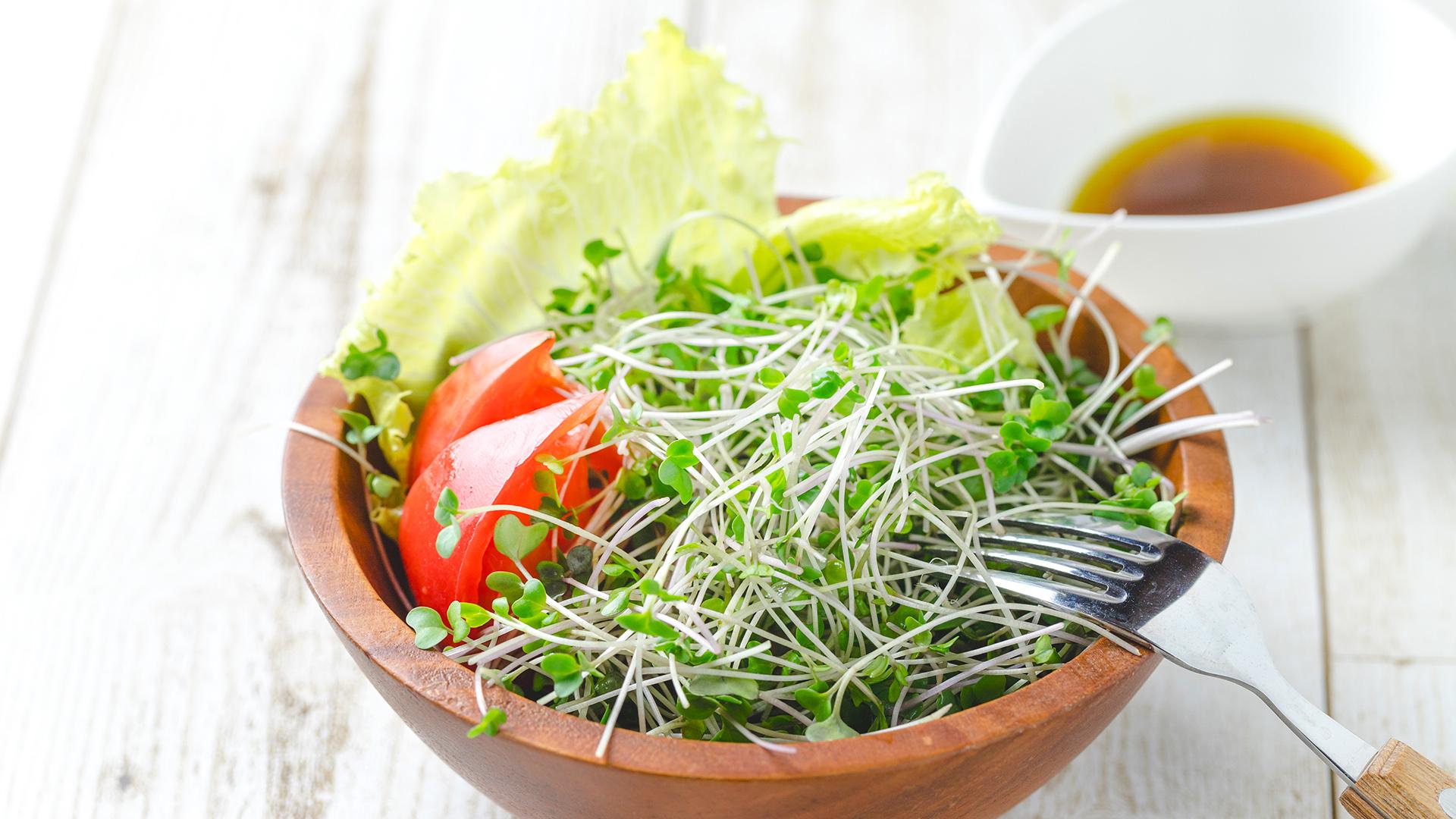 ブロッコリースプラウトの食べ方!スルフォラファンを効率よく摂取するには生がいい